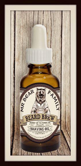 Full pott till Herr Björn | Testpiloterna  Recension av Mr Bear Shaving Oil
