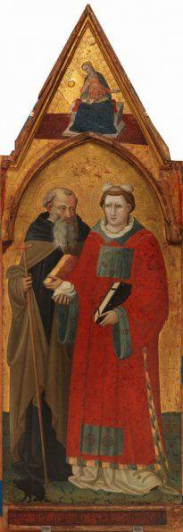 Bicci di Lorenzo, Saint Anthony and Saint Stephen (14th–15th century)