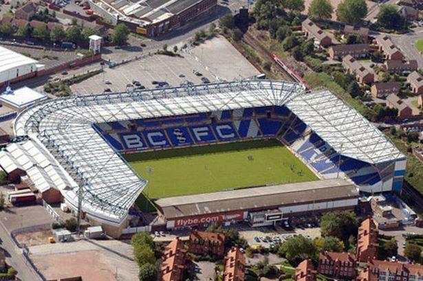 St Andrews - Aerial - Birmingham City FC