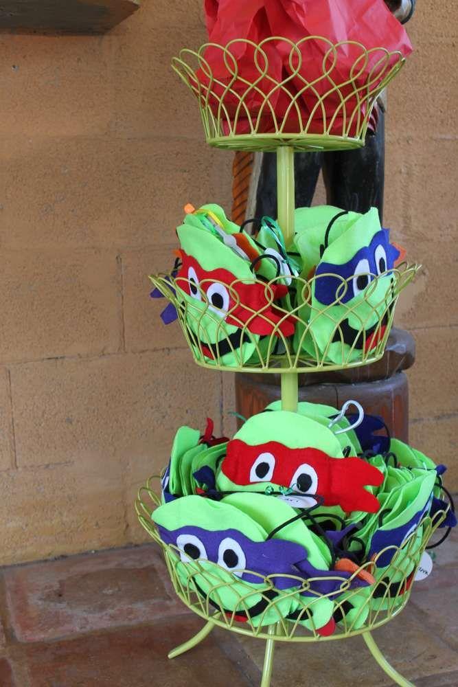 Abby's Teenage Mutant Ninja Turtle Party! | CatchMyParty.com