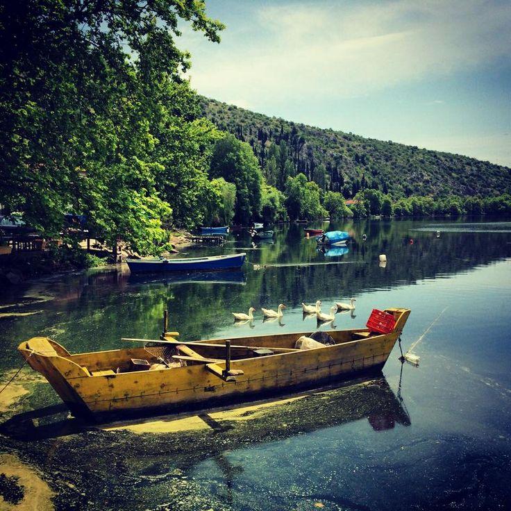 Kastoria Lake Greece