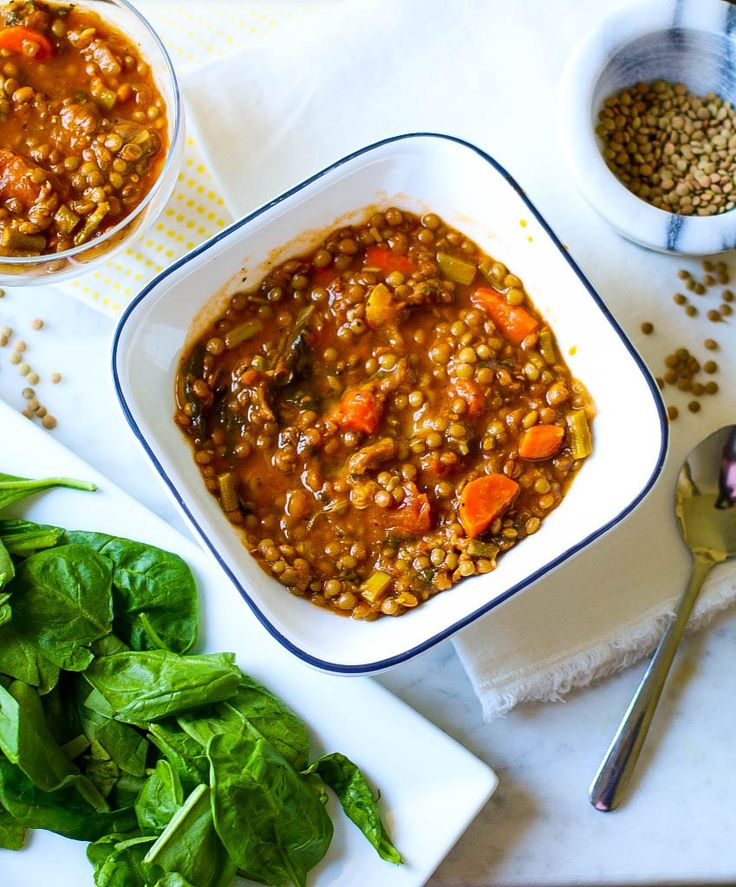 Super Hearty Moroccan Lentil Soup :http://www.findmymojyo.com/super-hearty-moroccan-lentil-soup/