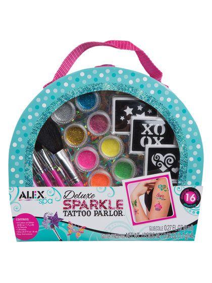 Sparkle Tattoo Kit by Alex Toys