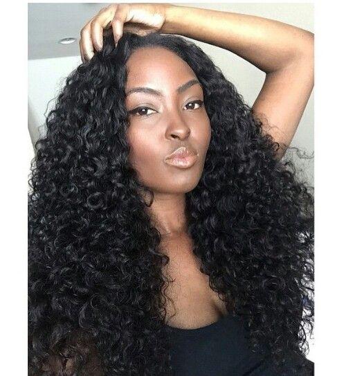 "Rosa 7A Malaysian Curly Hair 3pcs lot Deep Wave Malaysian Virgin Hair Bundles 8-30"" Natural Black Malaysian Curly Hair Weave"