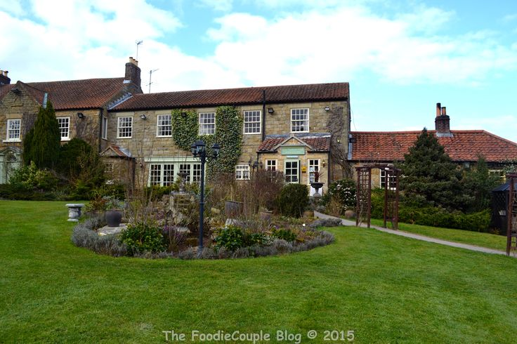 The very pretty and tranquil Ox Pasture Hall Hotel in Scarborough.