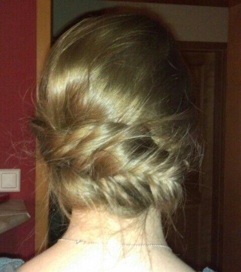 Fishtail braid Up-Do