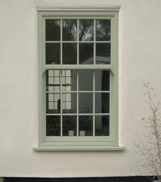conservation grade upvc windows georgian style - possibly without the criss cross on the bottom part