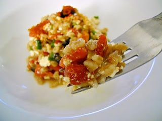 Farro and roasted red pepper salad | To eat and drink | Pinterest ...