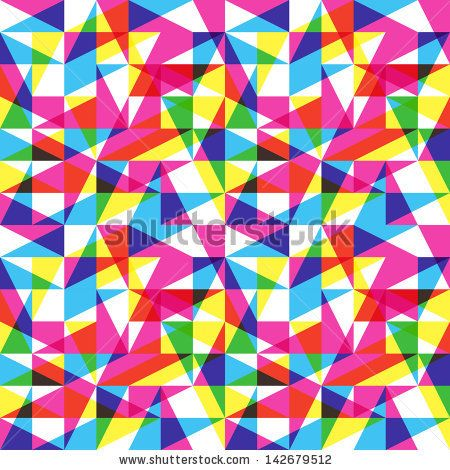 Color trend pattern - stock vector | Extra Mile | Pinterest