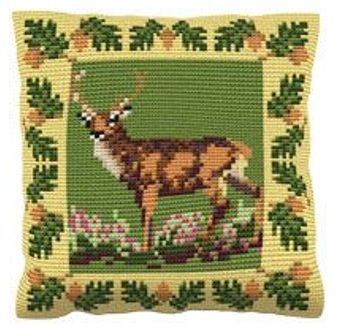 Red Deer - Cross Stitch Kit (printed canvas)