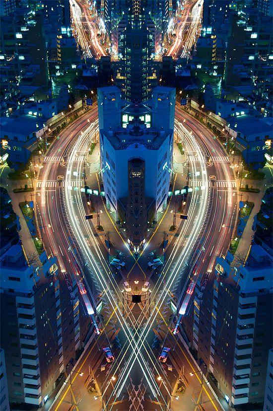 Graffiti of Speed / Mirror of Symmetry by Sinichi Higashi   Inspiration Grid   Design Inspiration