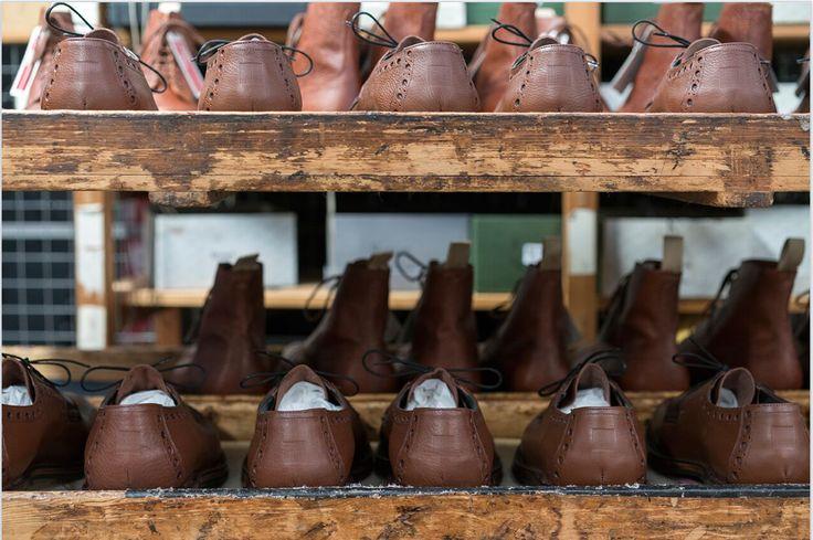 "The making of ""The Waterproof Shoe"" - Grenson x Norwegian Rain - Photo credits: Bent René Synnevaag"