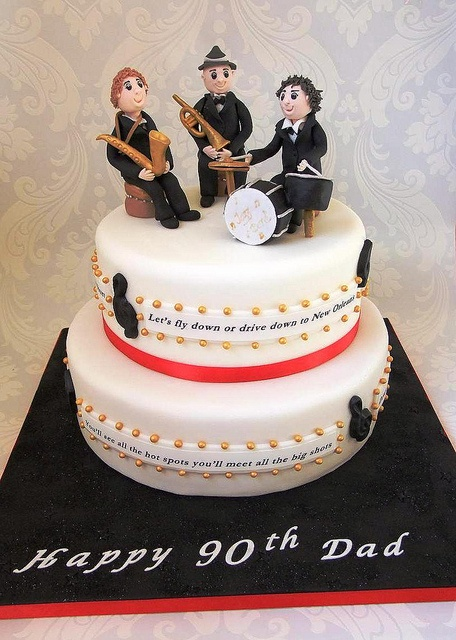 12 Best Jazz Cakes Images On Pinterest Music Cakes