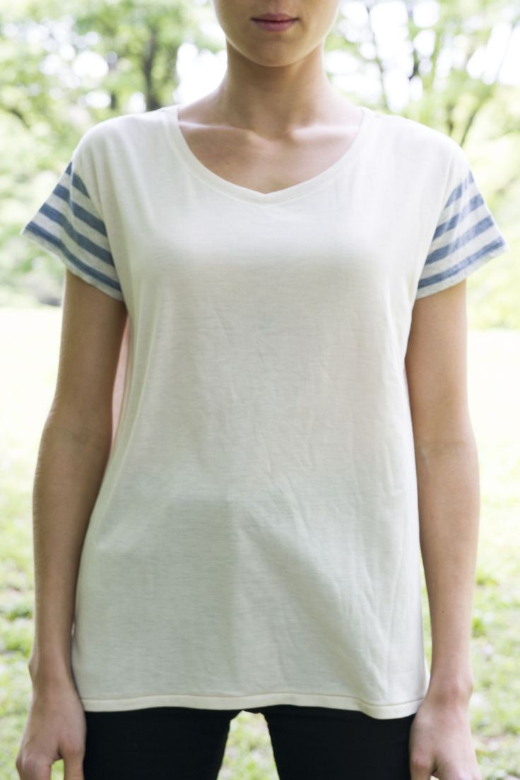 ckkn X roial 14' Summer New Collaboration!! V-neck T-shirt - Blue http://ckkn.jp/ckkn-x-roial2014-summer-3/