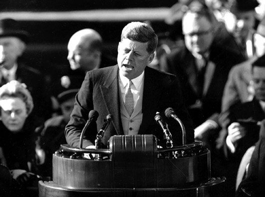 JFK Inaugural Address (January 1961) - Ask not what your country can do for you, ask what you can do for your country.