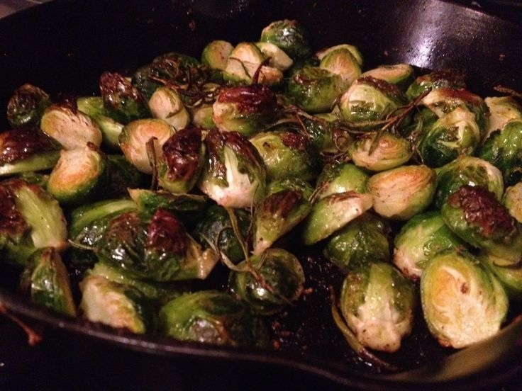 Rosemary Lemon Roasted Brussels Sprouts, and Meeting Nigella Lawson.