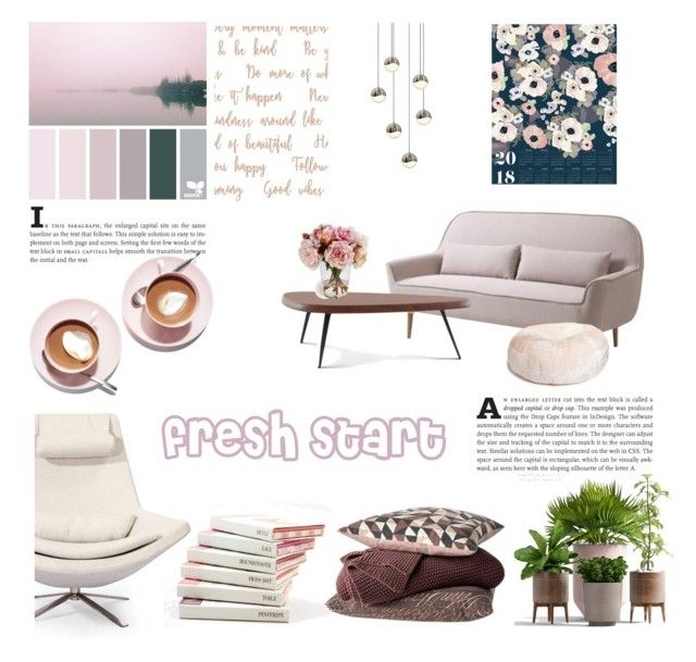 fresh start by levai-magdolna on Polyvore featuring interior, interiors, interior design, home, home decor, interior decorating, Nordstrom, Cassina, Sonneman and Khristian Howell