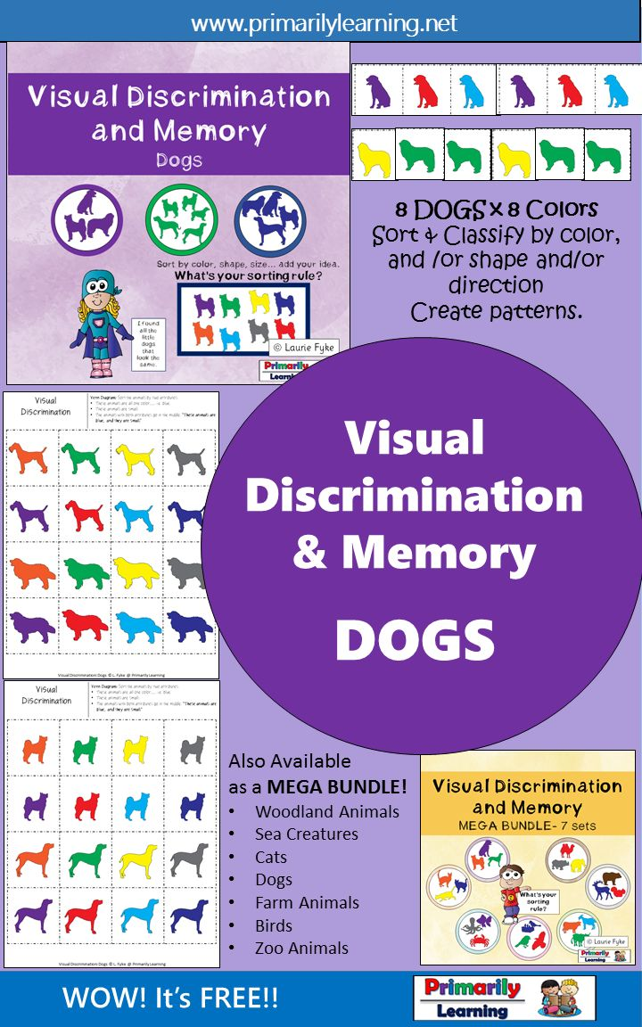 1031 Best Images About Discriminacion Visual On Pinterest