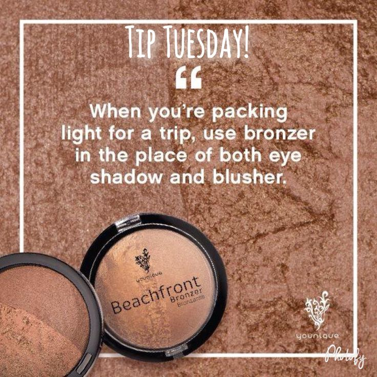 Natural bronzers can be gorgeous! https://www.youniqueproducts.com/prettywithHeidi