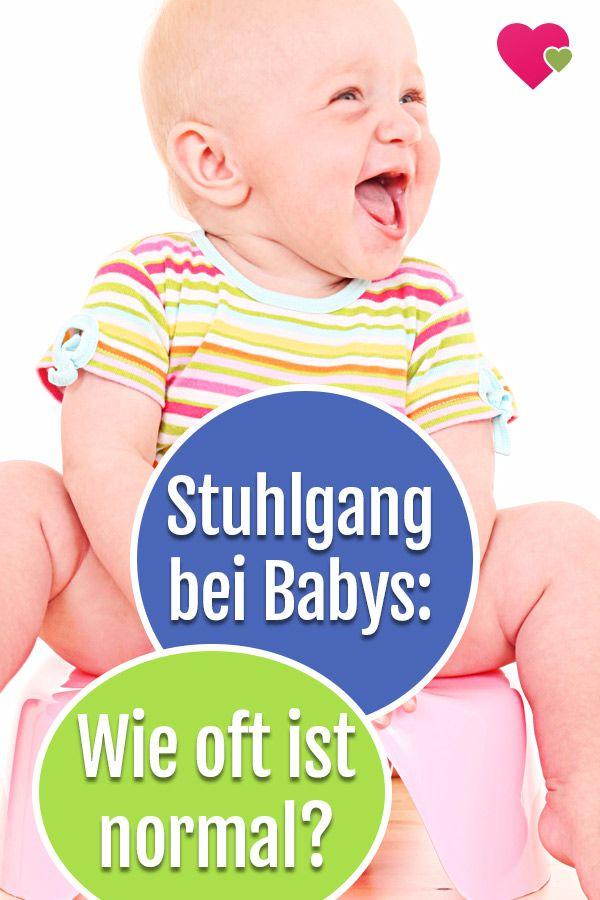 Wie oft ist Stuhlgang beim Baby normal | Baby verstopfung ...