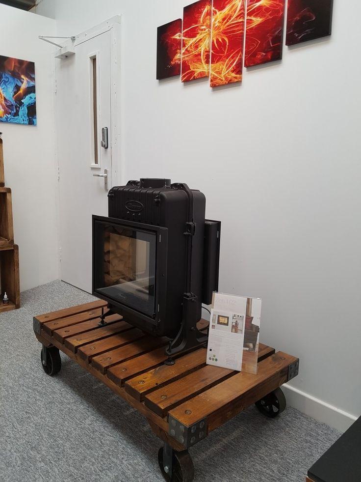 Dovre zen double sided wood burning stove