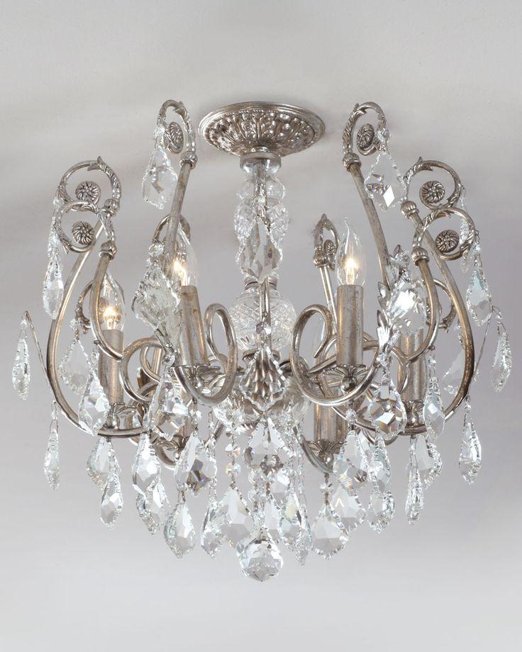 mini chandelier flushmount light fixture neiman marcus
