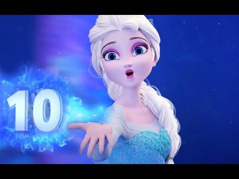 Frozen Number Song 1 to 20 with Elsa - YouTube