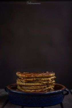 Nutty Pumpkin Pancakes