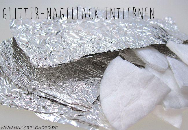 nails reloaded by naileni: [Tutorial] Glitternagellack entfernen