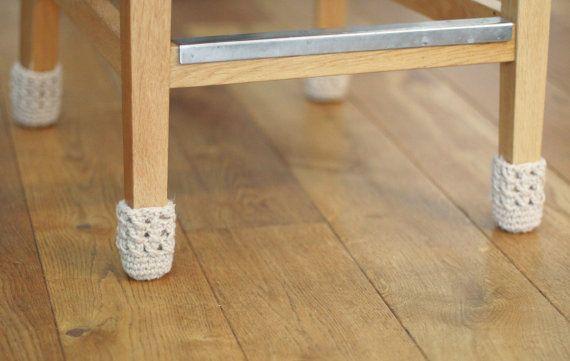 Hochzeit Stuhl deckt Boden Beschützer Wolle Tisch von HandfulCrafts