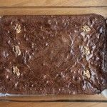Deep Dark Baked Brownies -- Baked NYC