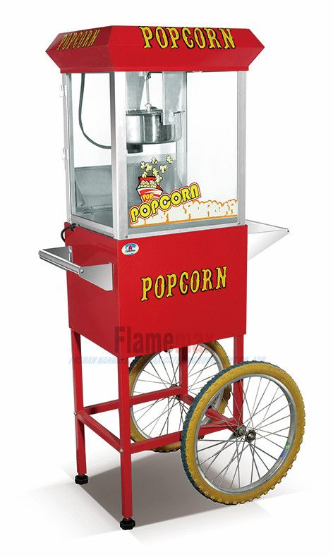 PC-800C popcorn machine with wheels, View industrial popcorn making machine, OEM Product Details from Foshan Nanhai Flamemax Catering Equipment Co., Ltd. on Alibaba.com