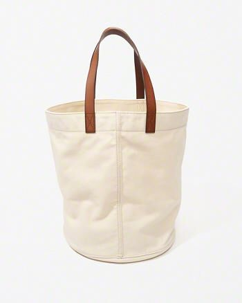 Canvas Tote Bag from Abercrombie & Fitch $78,00