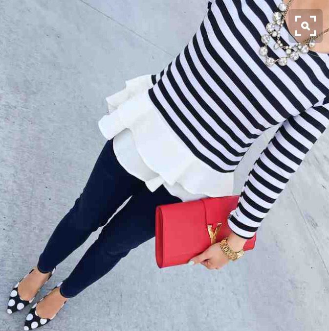 Such a cute outfit. Stitch fix inspiration 2016. Try stitch fix :) personal styling service! 1. Sign up with my referral link. (Just click pic) 2. Fill out style profile! Make sure to be specific in notes. 3. Schedule fix and Enjoy :) There's a $20 styling fee but will be put towards any purchase!