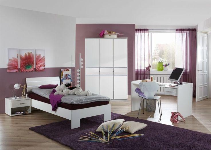 Jugendzimmer komplett weiß hochglanz  53 besten Jugendzimmer Bilder auf Pinterest | Weiss, Eiche sägerau ...