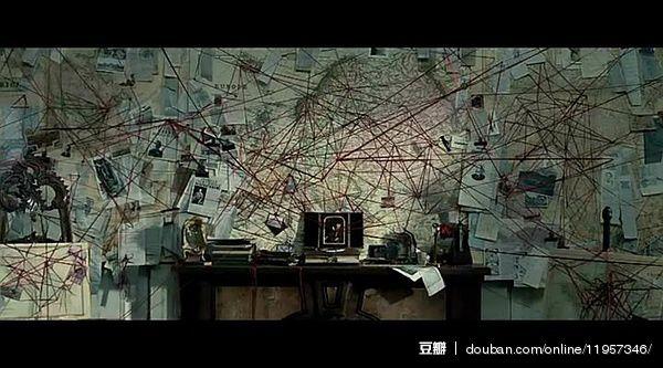 线上活动照片- 每一部悬疑剧里都有一面线索墙