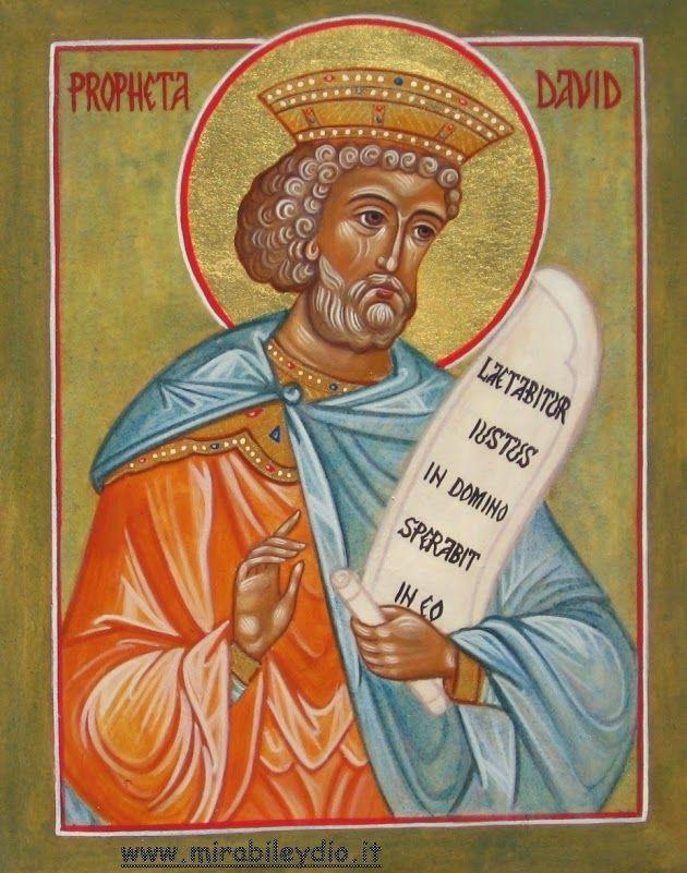 Profeta Davide :29 dicembre | iconesacremirabile