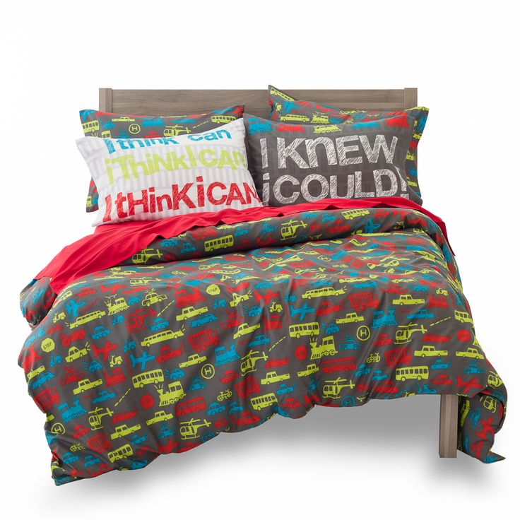 Transportation Bedding - Planes Trains & Automobiles! Fun Funky & Modern Boy Bedding! Transportation room, boy room, transportation theme room