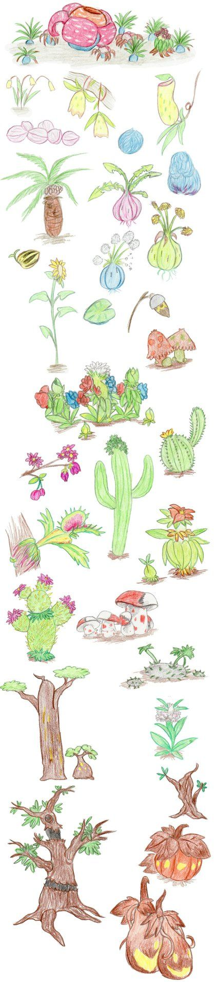 Plant Pokemon by DragonlordRynn on DeviantArt