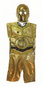 This Halloween vintage Ben Cooper Star Wars C3PO costume is part of www.CollectorPerspective.com's look at Halloween collectibles.