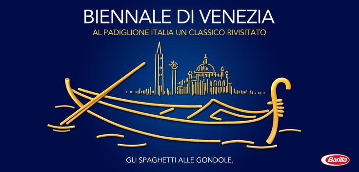 Tutto pronto per la Biennale di Venezia #Barilla