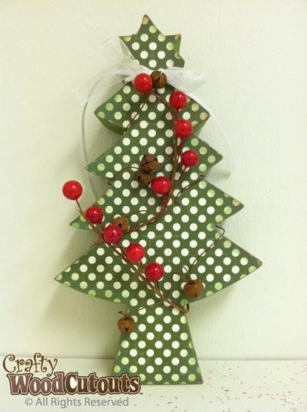 Small Craft Christmas Trees