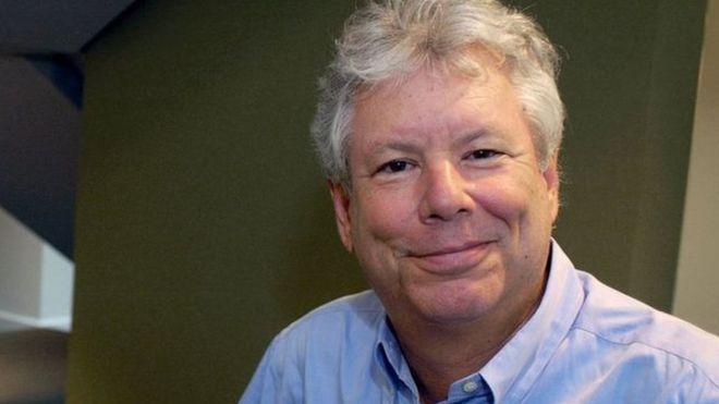 """Qué es la """"teoría del empujón"""" que le hizo ganar al estadounidense Richard H. Thaler el Nobel de Economía --   Fotografía de Richard H. Thaler, ganador del Nobel de Economía 2017"""