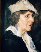 Julio Fossa Calderon, La mujer del sombrero blanco