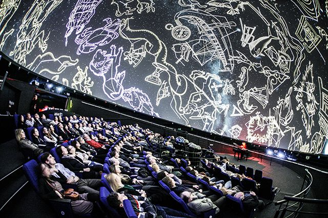 W czasie koncertu pod gwiazdami. / During the concert under the stars.