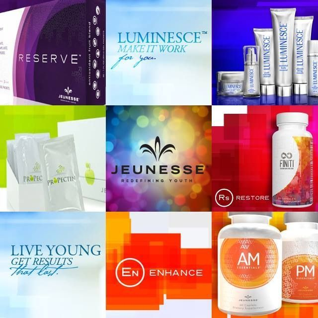 Say Y.E.S. to Jeunesse! We are passionate about redefining youth through our revolutionary products and life-changing opportunities.