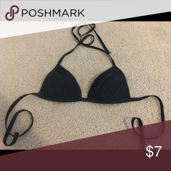 Black bikini top Lightly push up inside etam Swim Bikinis