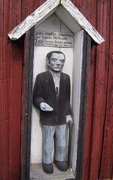Poor man statue, Karvia, Finland/ Karvian vaivaisukko