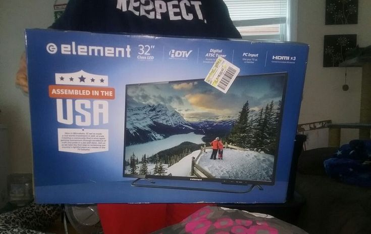Element 32 inch LCD tv new