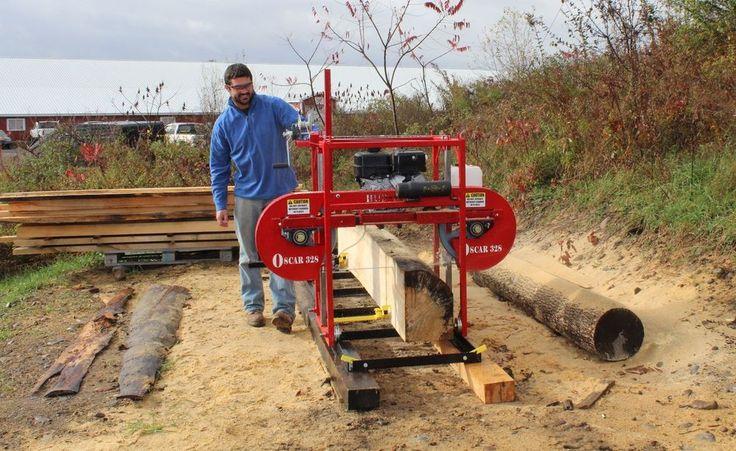 $4399.00  2014 Portable Sawmill Oscar 328 bandmill band mill saw mill lumber maker #HudSonForestEquipment